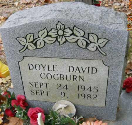 COGBURN, DOYLE DAVID - Montgomery County, Arkansas | DOYLE DAVID COGBURN - Arkansas Gravestone Photos