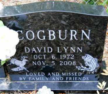 COGBURN, DAVID LYNN - Montgomery County, Arkansas   DAVID LYNN COGBURN - Arkansas Gravestone Photos