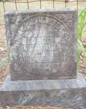 COGBURN, INFANT DAUGHTER - Montgomery County, Arkansas | INFANT DAUGHTER COGBURN - Arkansas Gravestone Photos