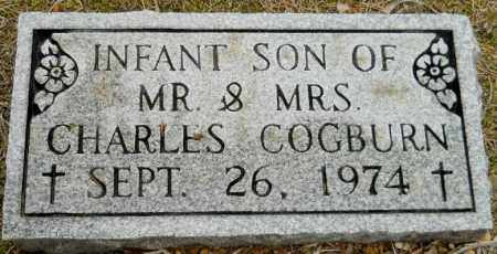 COGBURN, INFANT SON - Montgomery County, Arkansas | INFANT SON COGBURN - Arkansas Gravestone Photos