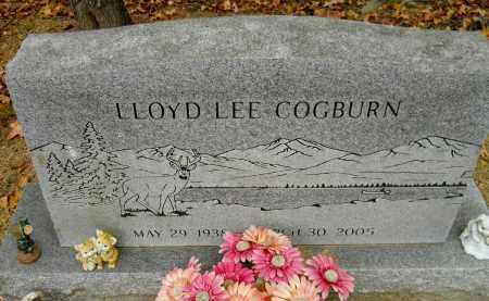 COGBURN, LLOYD LEE - Montgomery County, Arkansas | LLOYD LEE COGBURN - Arkansas Gravestone Photos