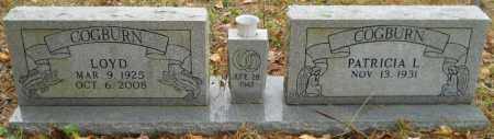 COGBURN, LOYD - Montgomery County, Arkansas   LOYD COGBURN - Arkansas Gravestone Photos