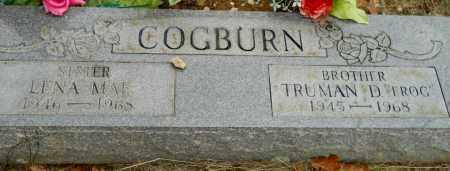 "COGBURN, TRUMAN D ""FROG"" - Montgomery County, Arkansas | TRUMAN D ""FROG"" COGBURN - Arkansas Gravestone Photos"