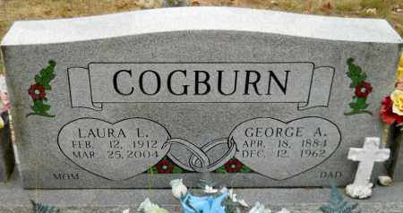 COGBURN, GEORGE A - Montgomery County, Arkansas | GEORGE A COGBURN - Arkansas Gravestone Photos