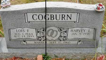 COGBURN, LOIS F - Montgomery County, Arkansas | LOIS F COGBURN - Arkansas Gravestone Photos