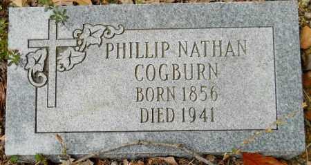 COGBURN, PHILLIP NATHAN - Montgomery County, Arkansas   PHILLIP NATHAN COGBURN - Arkansas Gravestone Photos