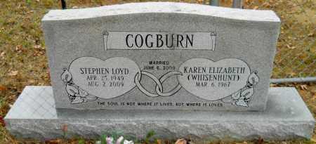 COGBURN, STEPHEN LOYD - Montgomery County, Arkansas | STEPHEN LOYD COGBURN - Arkansas Gravestone Photos