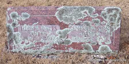 SMITH, DELSI - Montgomery County, Arkansas | DELSI SMITH - Arkansas Gravestone Photos
