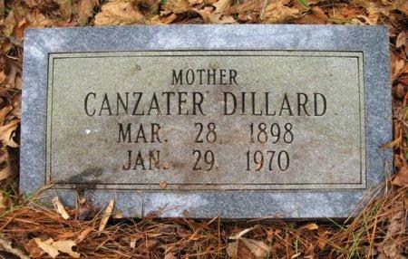 DILLARD, CANZATER - Montgomery County, Arkansas   CANZATER DILLARD - Arkansas Gravestone Photos
