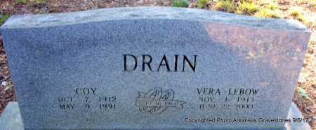 DRAIN, VERA - Montgomery County, Arkansas | VERA DRAIN - Arkansas Gravestone Photos