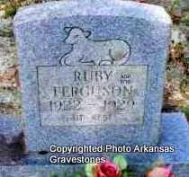 FERGSUON, RUBY - Montgomery County, Arkansas | RUBY FERGSUON - Arkansas Gravestone Photos