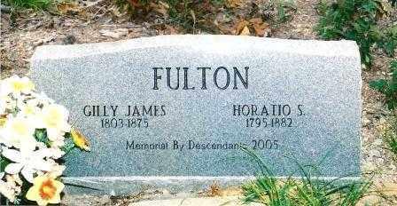FULTON, HORATIO S - Montgomery County, Arkansas   HORATIO S FULTON - Arkansas Gravestone Photos