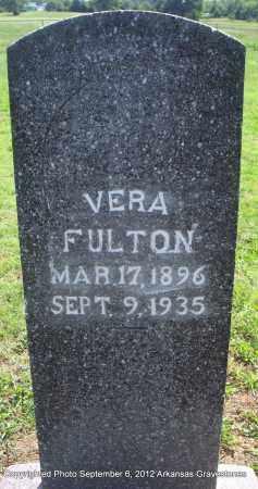 FULTON, VERA - Montgomery County, Arkansas | VERA FULTON - Arkansas Gravestone Photos