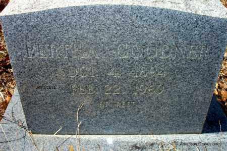 GOODNER, BERTHA - Montgomery County, Arkansas   BERTHA GOODNER - Arkansas Gravestone Photos