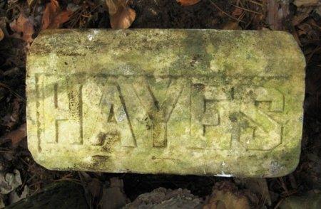 HAYES, UNKNOWN - Montgomery County, Arkansas | UNKNOWN HAYES - Arkansas Gravestone Photos