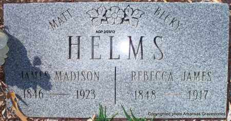 "HELMS, REBECCA ""BECKY"" - Montgomery County, Arkansas 