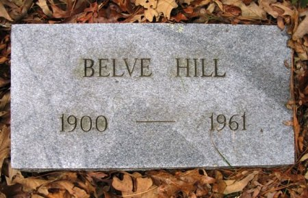 HILL, BELVE - Montgomery County, Arkansas | BELVE HILL - Arkansas Gravestone Photos
