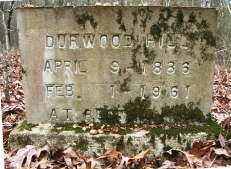 HILL, DURWOOD - Montgomery County, Arkansas | DURWOOD HILL - Arkansas Gravestone Photos