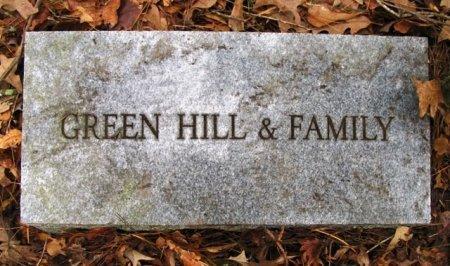 HILL, GREEN F. - Montgomery County, Arkansas   GREEN F. HILL - Arkansas Gravestone Photos