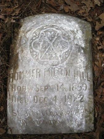 HILL, HOMMER MILTON - Montgomery County, Arkansas | HOMMER MILTON HILL - Arkansas Gravestone Photos
