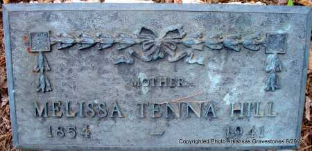 HILL, MELISSA TENNA - Montgomery County, Arkansas | MELISSA TENNA HILL - Arkansas Gravestone Photos