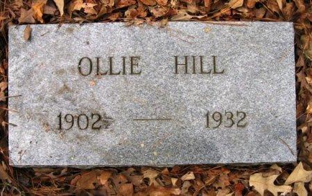 HILL, OLLIE - Montgomery County, Arkansas | OLLIE HILL - Arkansas Gravestone Photos