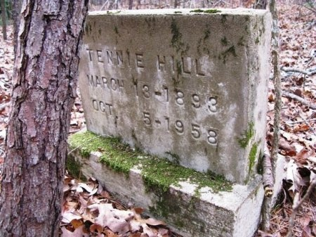 HILL, TENNIE - Montgomery County, Arkansas | TENNIE HILL - Arkansas Gravestone Photos