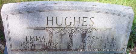 HUGHES, JOSHUA - Montgomery County, Arkansas | JOSHUA HUGHES - Arkansas Gravestone Photos