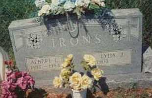 IRONS, ALBERT L. - Montgomery County, Arkansas | ALBERT L. IRONS - Arkansas Gravestone Photos