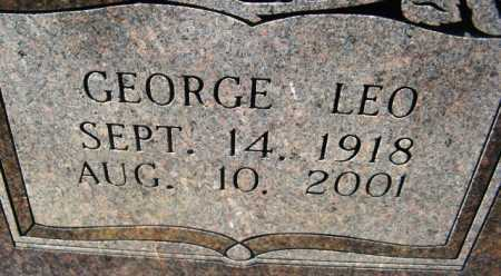 IRONS, GEORGE LEO (CLOSE UP) - Montgomery County, Arkansas | GEORGE LEO (CLOSE UP) IRONS - Arkansas Gravestone Photos