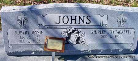 JOHNS, ROBERT JESSIE - Montgomery County, Arkansas   ROBERT JESSIE JOHNS - Arkansas Gravestone Photos