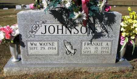 JOHNSON, FRANKIE A - Montgomery County, Arkansas   FRANKIE A JOHNSON - Arkansas Gravestone Photos