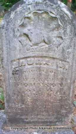 JOHNSON, LAURA R - Montgomery County, Arkansas | LAURA R JOHNSON - Arkansas Gravestone Photos