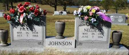 JOHNSON, PAUL D - Montgomery County, Arkansas | PAUL D JOHNSON - Arkansas Gravestone Photos