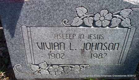 JOHNSON, VIVIAN L - Montgomery County, Arkansas | VIVIAN L JOHNSON - Arkansas Gravestone Photos
