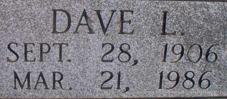 MANLEY, DAVE L (CLOSEUP) - Montgomery County, Arkansas | DAVE L (CLOSEUP) MANLEY - Arkansas Gravestone Photos