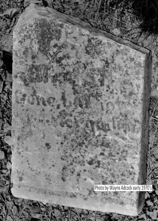 MARSH, CHILD - Montgomery County, Arkansas | CHILD MARSH - Arkansas Gravestone Photos