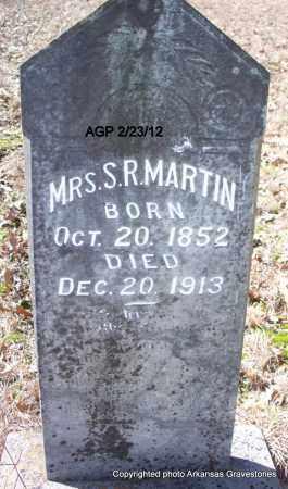 MARTIN, S R, MRS - Montgomery County, Arkansas | S R, MRS MARTIN - Arkansas Gravestone Photos