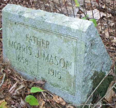 MASON, MORRIS J - Montgomery County, Arkansas   MORRIS J MASON - Arkansas Gravestone Photos