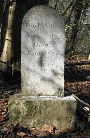 MCCLAIN, DINA - Montgomery County, Arkansas | DINA MCCLAIN - Arkansas Gravestone Photos