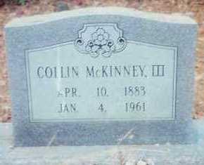 "MCKINNEY, III, COLLIN ""CAL"" - Montgomery County, Arkansas | COLLIN ""CAL"" MCKINNEY, III - Arkansas Gravestone Photos"