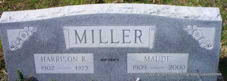 MILLER, HARRISON K - Montgomery County, Arkansas   HARRISON K MILLER - Arkansas Gravestone Photos
