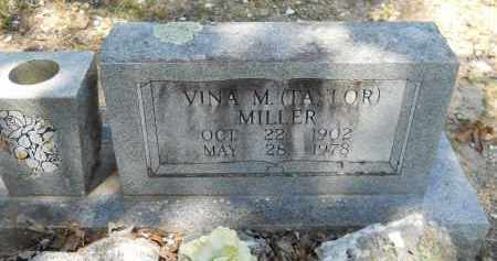 TAYLOR, VINA M - Montgomery County, Arkansas | VINA M TAYLOR - Arkansas Gravestone Photos