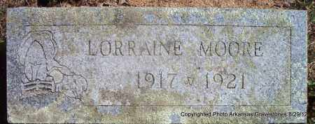 MOORE, LORRAINE - Montgomery County, Arkansas | LORRAINE MOORE - Arkansas Gravestone Photos