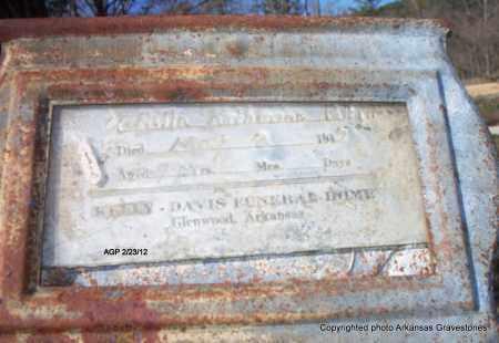PETTITT, V RILLA KATHERINE - Montgomery County, Arkansas   V RILLA KATHERINE PETTITT - Arkansas Gravestone Photos