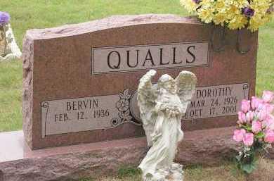 QUALLS, DOROTHY - Montgomery County, Arkansas | DOROTHY QUALLS - Arkansas Gravestone Photos