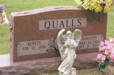 QUALLS, DOROTHY - Montgomery County, Arkansas | DOROTHY QUALLS - Arkansas Gravestone Photos