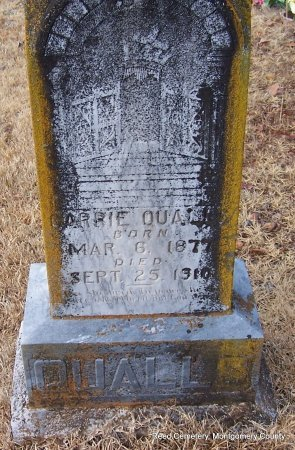 QUALLS, CARRIE - Montgomery County, Arkansas | CARRIE QUALLS - Arkansas Gravestone Photos