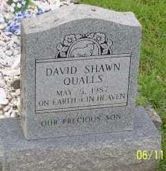 QUALLS, DAVID SHAWN - Montgomery County, Arkansas | DAVID SHAWN QUALLS - Arkansas Gravestone Photos