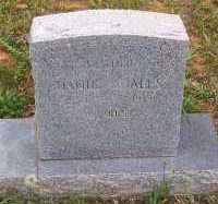 QUALLS, DANIE - Montgomery County, Arkansas | DANIE QUALLS - Arkansas Gravestone Photos